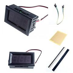 """v27d 0,56 """"geleid 3-cijferige directe huidige voltmeter meter module en accessoires voor Arduino"""
