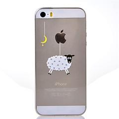 お買い得  iPhone 5S/SE ケース-ケース 用途 Apple iPhone 8 / iPhone 8 Plus / iPhone 7 クリア / パターン バックカバー Appleロゴアイデアデザイン ソフト TPU のために iPhone 8 Plus / iPhone 8 / iPhone 7 Plus