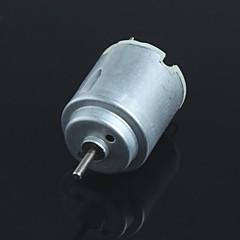 voordelige -ronde dc speelgoed motor diy kleine productie motor - zilver (3v ~ 6v)