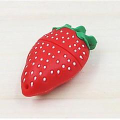 νέα χαριτωμένο μιμηθούν φράουλα μοντέλο USB 2.0 flash 2GB μνήμης κίνησης μανδρών ραβδί