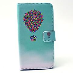 Χαμηλού Κόστους Galaxy S4 Mini Θήκες / Καλύμματα-Για Samsung Galaxy Θήκη Θήκες Καλύμματα Πορτοφόλι Θήκη καρτών με βάση στήριξης Πλήρης κάλυψη tok Μπαλόνια Σκληρή PU Δέρμα για Samsung S6