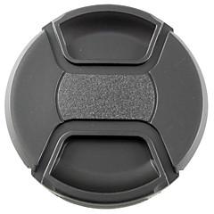 mengs® 77 milímetros snap-on tampa tampa da lente com corda / trela para nikon canon e sony
