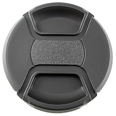 mengs® 77mm snap-על כיסוי מכסה עדשה עם מחרוזת / רצועה לניקון קנון וסוני