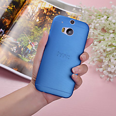 Case For HTC HTC Case Ultra-thin Translucent Back Cover Solid Color Hard PC for