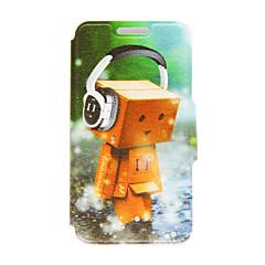 Для Кейс для Sony / Xperia Z3 Бумажник для карт / Флип Кейс для Чехол Кейс для Мультяшная тематика Твердый Искусственная кожа для Sony