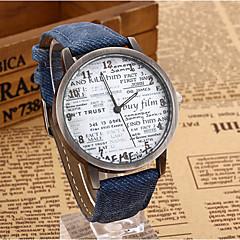 yoonheel Dames Modieus horloge Kwarts Leer Band Vintage Teksthorloge Zwart Blauw Bruin Zwart Bruin Blauw