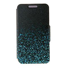 billige Galaxy A7 Etuier-For Samsung Galaxy etui Kortholder Med stativ Flip Magnetisk Mønster Etui Heldækkende Etui Farvegradient Kunstlæder for SamsungA8 A7 A5