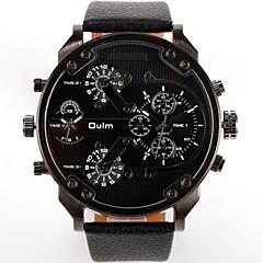 preiswerte Herrenuhren-Herrn Sportuhr / Armbanduhr Wasserdicht / Schlussverkauf Leder Band Luxus / Modisch / Zwei jahr / SOXEY SR626SW