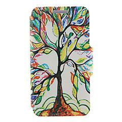 Для Кейс для Sony / Xperia Z3 Бумажник для карт / Флип Кейс для Чехол Кейс для дерево Твердый Искусственная кожа для SonySony Xperia Z3 /