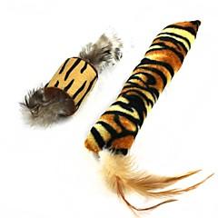 お買い得  犬用おもちゃ-猫用品 おもちゃ ペット用おもちゃ ぬいぐるみ スポンジ ブラウン / ゴールド