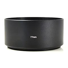 mengs® 77mm aluminium téléobjectif hotte pour Canon, Nikon, Pentax sony fuji olympus etc caméra reflex numérique