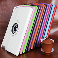 abordables Carcasas y Fundas para iPad Air-Funda Para Apple iPad Mini 4 Mini iPad 3/2/1 iPad 4/3/2 iPad Air 2 iPad Air con Soporte Rotación 360º Funda de Cuerpo Entero Color sólido