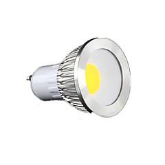 cheap LED Bulbs-GU10 LED Spotlight MR16 1 COB 450 lm Warm White Cold White Natural White K Dimmable AC 220-240 V