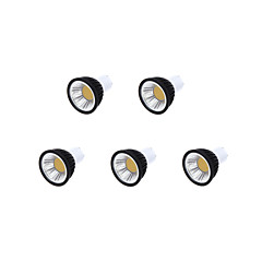3.5 GU10 Focos LED MR16 1 leds COB 250-300lm Blanco Cálido Blanco Fresco Blanco Natural Regulable AC 100-240