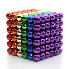 Mıknatıslı Oyuncaklar Süper Güçlü Nadir Mıknatıslar Manyetik Toplar 216 Parçalar 5mm Oyuncaklar Metal Klasik & Zamansız Manyetik Dörtgen