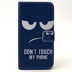 Mert Samsung Galaxy tok Pénztárca / Kártyatartó / Állvánnyal / Flip Case Teljes védelem Case Vonalak / hullámok Műbőr SamsungS6 / S5 Mini