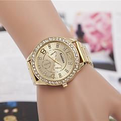 preiswerte Tolle Angebote auf Uhren-Damen Armbanduhr Quartz Imitation Diamant Legierung Band Analog Charme Retro Modisch Silber / Gold / Rotgold - Silber Golden Rotgold