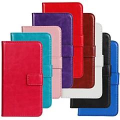 tanie Inne etui / pokrowce dla Samsunga-Na Samsung Galaxy Etui Flip Kılıf Futerał Kılıf Jeden kolor Skóra PU Samsung Ace 3