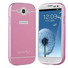 For Samsung Galaxy etui Stødsikker Etui Bagcover Etui Helfarve Akryl Samsung S3
