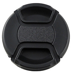mengs® 62 milímetros snap-on tampa tampa da lente com corda / trela para nikon canon e sony