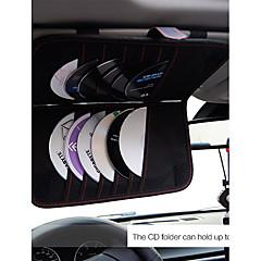 Недорогие Органайзеры для транспортных средств-Автомобиль Держатель подставки Коврик против скольжения Тип пряжки Кожа PU Держатель