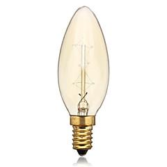 1 stk. E14 25 W 2 260 LM Gul Glødepærer AC 220-240 V