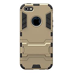 Недорогие Кейсы для iPhone 6-Назначение iPhone 8 iPhone 8 Plus iPhone 7 iPhone 7 Plus iPhone 6 iPhone 6 Plus Кейс для iPhone 5 Чехлы панели Защита от удара со стендом