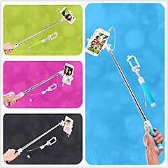 Недорогие Монопод для селфи-Выдвижная Селфи кабель камеры взять полюс ручной монопод палка с держателем мобильного телефона для iPhone 6 (ассорти цветов)