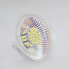 preiswerte LED-Birnen-120-150 lm GU5.3(MR16) LED Spot Lampen MR16 50 LED-Perlen SMD 3020 Warmes Weiß / Natürliches Weiß 12 V / 1 Stück