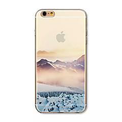 Назначение iPhone 8 iPhone 8 Plus iPhone 7 iPhone 7 Plus iPhone 6 iPhone 6 Plus Чехлы панели С узором Задняя крышка Кейс для Пейзаж