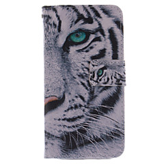 For HTC Case Card Holder / Wallet / with Stand / Flip Case Full Body Case Animal Hard Genuine Leather HTC