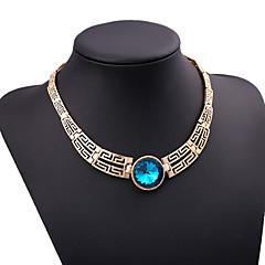 Γυναικεία Κολιέ Δήλωση Συνθετικοί πολύτιμοι λίθοι Cubic Zirconia κοσμήματα πολυτελείας Κοσμήματα Για Πάρτι