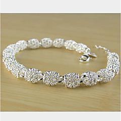 abordables Bijoux pour Femme-Chaînes & Bracelets - Original, Soirée, Mode Bracelet Argent Pour Soirée Cadeau Valentin