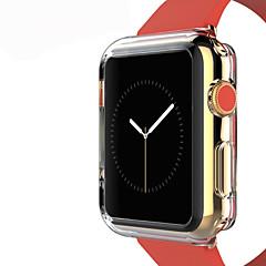 お買い得  Apple Watchアクセサリー-tpu透明な色の保護ソフトケースカバーアップルウォッチ3シリーズ2 1 iwatch(42ミリメートル38ミリメートル)