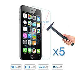 """5шт горячей продажи протектор экрана из закаленного стекла Защитная пленка для охраны Apple IPhone 6с плюс / 6 плюс 5,5 """""""