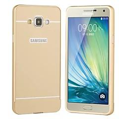 Na Samsung Galaxy Etui Etui Pokrowce Galwanizowane Etui na tył Kılıf Jeden kolor Twarde Akrylowy na SamsungA5 (2017) A3 (2017) A7 (2017)