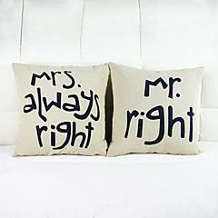 zestaw 2 mr prawy poszewka poduszka materac poszewka poduszka sofa dekoracja domowa poduszka okładka