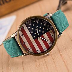 お買い得  大特価腕時計-女性用 クォーツ リストウォッチ カジュアルウォッチ PU バンド チャーム / ファッション ブラック