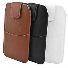 κοινή pu υλικό λίτσι συν εξωτερική σακούλα για να φορέσει μια θήκη ζώνης για Samsung Galaxy Note 3 Σημείωση 4 S6 Α7 (διάφορα χρώματα)