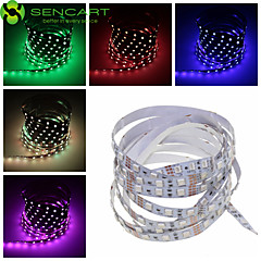 1M 60x5050 SMD RGB / White / Green / Blue / Pink / Yellow / Red / Cold White / Warm White Light LED Strip Lamp (DC 12V)