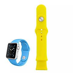Zegarek sportowy do zegarka jabłko zegarek silikonowy 38mm z łącznikiem