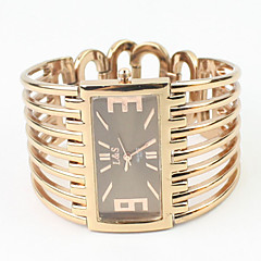 Dames Modieus horloge Armbandhorloge Kwarts Legering Band Bangle armband Elegante horloges Goud Rose