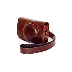 dengpin® PU lær kameraveske bag dekke med skulderstropp til Canon Powershot sx710 hs sx700 hs (assorterte farger)