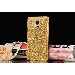 Voor Samsung Galaxy Note Mat hoesje Achterkantje hoesje Glitterglans PC Samsung Note 4