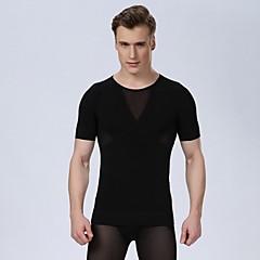 homens sexy espartilho homens shaper cintura corpo abdômen cueca emagrecimento tanque camisa ginásio camisa topo academia de musculação de