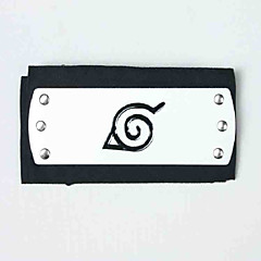 Bijuterii / Accesoriu de Păr Inspirat de Naruto Naruto Uzumaki Anime Accesorii Cosplay Accesoriu de Păr Negru Aliaj / Terilenă Bărbătesc