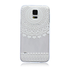 Voor Samsung Galaxy hoesje Doorzichtig hoesje Achterkantje hoesje Kanten ontwerp TPU SamsungS6 edge / S6 / S5 Mini / S5 / S4 Mini / S4 /