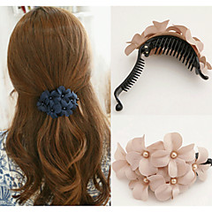 abordables Joyería para el Cabello-Mujer Tejido / Legierung garra del pelo - Elegante / Pinzas / Pinzas