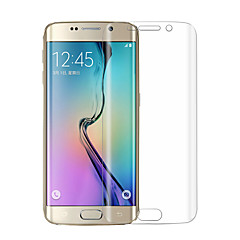 お買い得  Samsungアクセサリー-三星銀河S6エッジg925fためangibabe超薄型0.1ミリメートル防爆ソフトTPU画面FLIMプロテクター