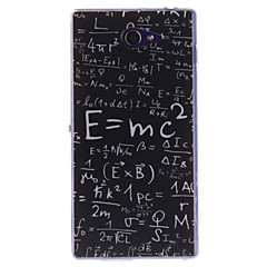 Коко fun® математике формула модели мягкой ТПУ IMD задняя крышка чехол для Sony Xperia м2 s50h